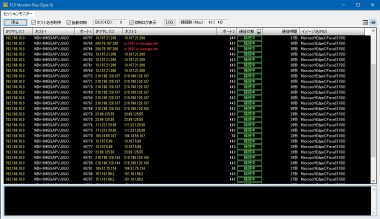 TCP Monitor Plus (Type-S) - Screenshot